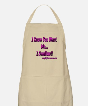 I Know You Want Me!! BBQ Apron