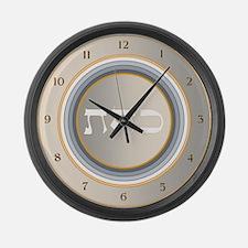 DEFUSING NEGATIVE ENERGY Large Wall Clock
