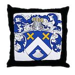 Christiaens Family Crest Throw Pillow