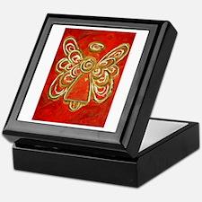 Red Angel Keepsake Box