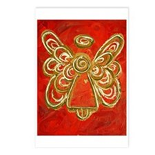 Red Angel Postcards (Package of 8)