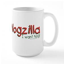 Nogzilla - Eggnog Lover Mug