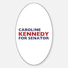 Kennedy for Senator Oval Decal
