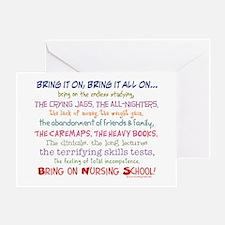 Bring on Nursing School! Greeting Card