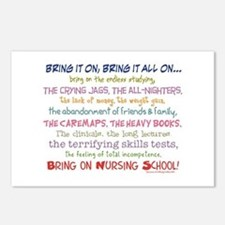 Bring on Nursing School! Postcards (Package of 8)