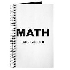 MATH - Problem Solved Journal