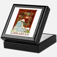 LIBRARIAN by Coles Phillips Keepsake Box