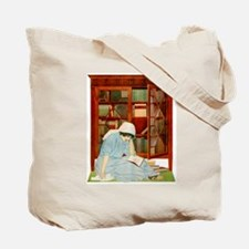 LIBRARIAN by Coles Phillips Tote Bag