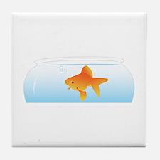 Fish Bowl Tile Coaster