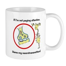 Blame Your Neurotransmitters Small Mug