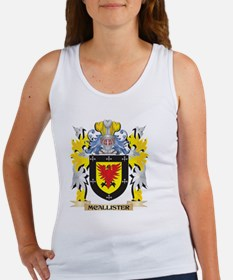 Mcallister Coat of Arms - Family Crest Tank Top
