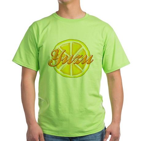 Yuzu Fruit Green T-Shirt