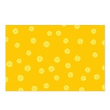 Retro Citrus Pattern Postcards (Package of 8)