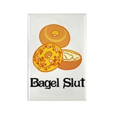 Bagel Slut Rectangle Magnet