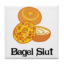 Bagel Slut Tile Coaster