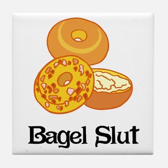 Bagel Slut Tile Coaster