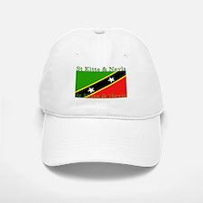 St Kitts & Nevis Baseball Baseball Cap