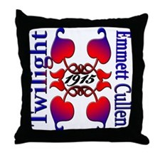 EMMETT CULLEN Throw Pillow