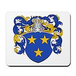 Claeys Family Crest Mousepad