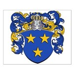 Claeys Family Crest Small Poster