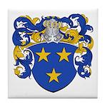 Claeys Family Crest Tile Coaster