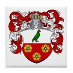 Cremers Family Crest Tile Coaster