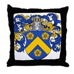 Cuypers Family Crest Throw Pillow