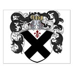 DeBeers Family Crest Small Poster