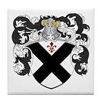 DeBeers Family Crest Tile Coaster