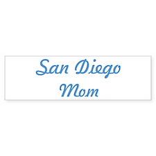 San Diego mom Bumper Sticker