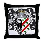 DeBoer Family Crest Throw Pillow