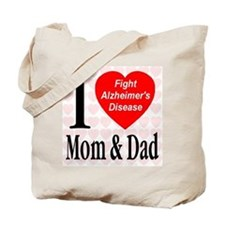 Fight Alzheimer's Disease Tote Bag