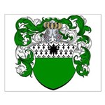 DeGruyter Family Crest Small Poster