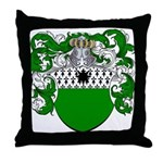 DeGruyter Family Crest Throw Pillow