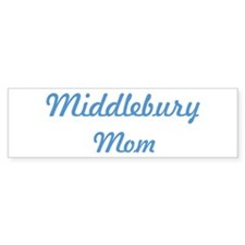 Middlebury mom Bumper Bumper Sticker