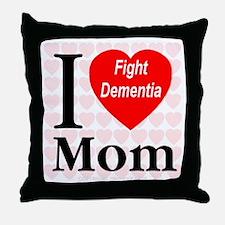 Fight Dementia Throw Pillow