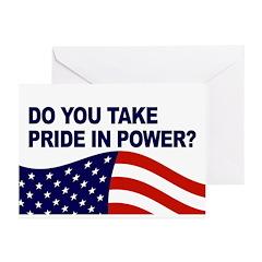 Pride in Power (Pack of 6 Greeting Cards)