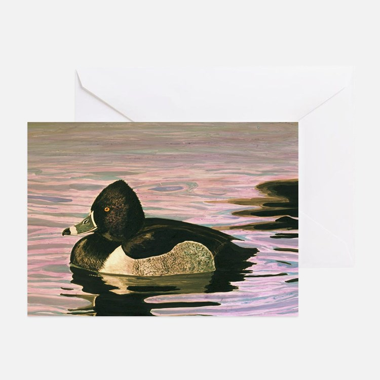 Cute Duck wildlife waterfowl Greeting Cards (Pk of 10)