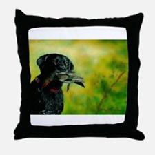 Cute Wood ducks Throw Pillow