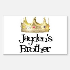 Jayden's Brother Rectangle Decal