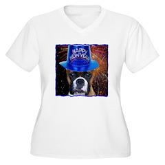 New Years Boxer T-Shirt