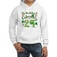 Leap Year Birthday Feb. 29th Hoodie