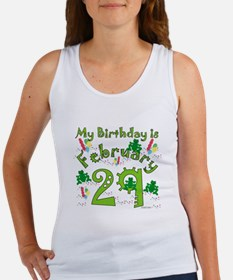 Leap Year Birthday Feb. 29th Women's Tank Top