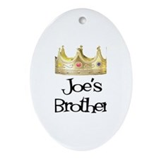 Joe's Brother Oval Ornament