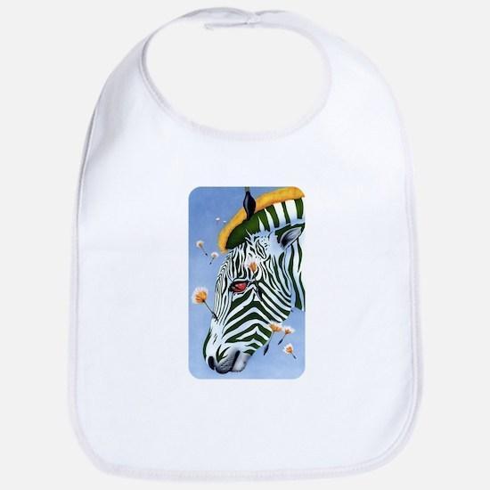 Zebra Breeze Bib
