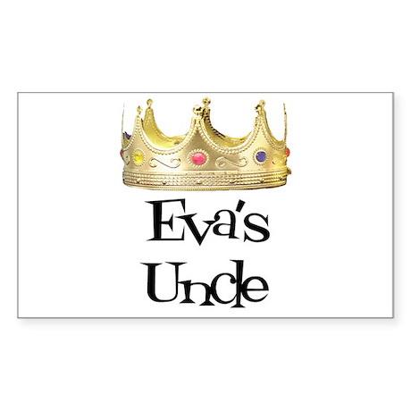 Eva's Uncle Rectangle Sticker