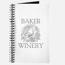 Baker Last Name Vintage Winery Journal