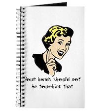 No Touching Journal