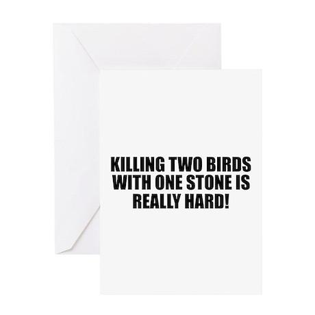 Killing Birds Greeting Card