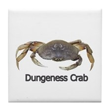 Dungeness Crab Tile Coaster